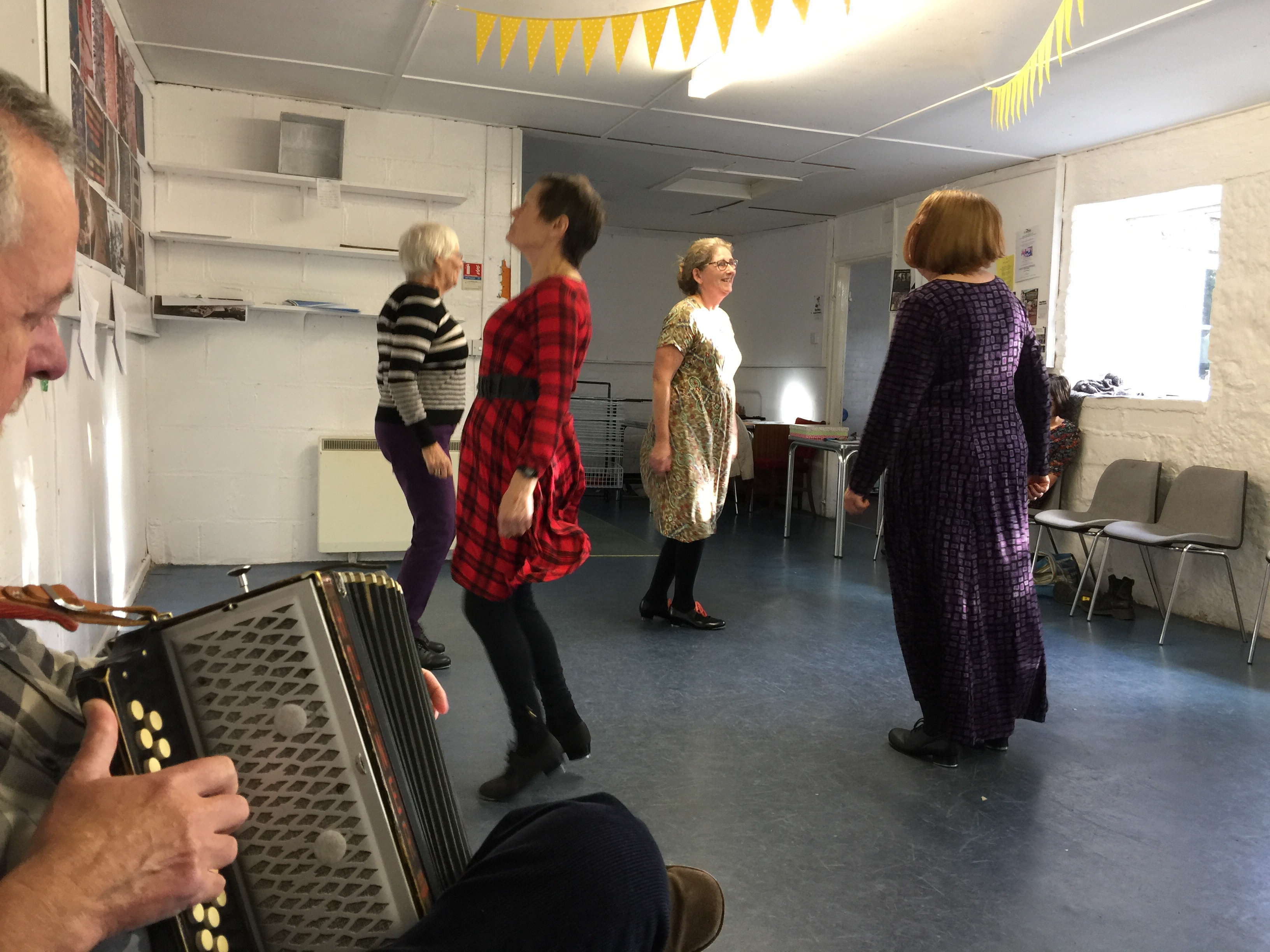 Cornish dancing